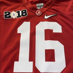 Nike official University of Alabama Jersey.